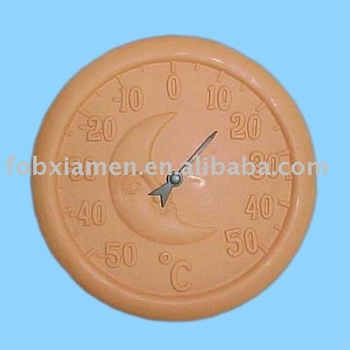 Garden Decorative Terracotta Thermometer Buy Terracotta