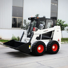 Multifunctional 750kg AS750 CE small skid steer loader in stock