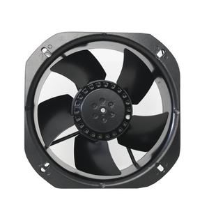 Ac Electric current type of metal blades 220v High performance 22580 ac Cooling brushless axial Fan