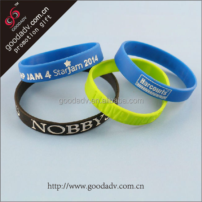 2015 meaningful silicone wristbands/diabetes silicone bracelets/plain black slap bracelet for promotion gift