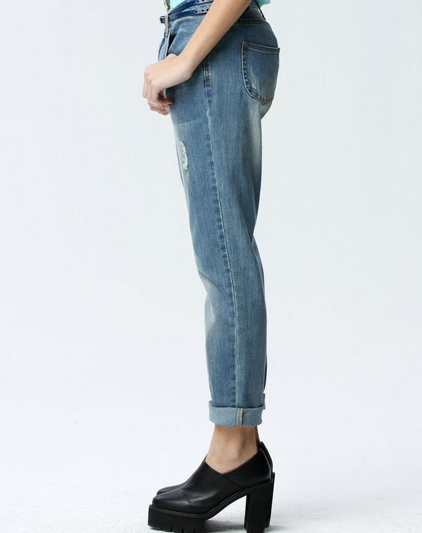 Hot Girls Fashion Denim Jeans