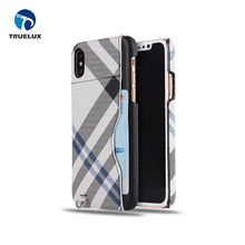 DHL Shipping Anti Scratch PU Leather Phone Case Cover For iPhone X Full Colors