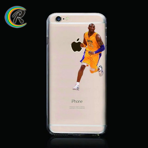 clear NBA Kobe Jordan cases for iPhone 6 descendants of the sun phone case