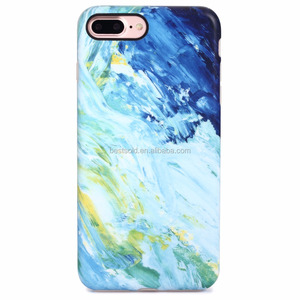 right size imd marble phone case for phone 7 plus , fancy customized edge design phone case for iphone7 plus