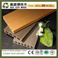 Outdoor vinyl wpc decking factory price wpc floor high quality engineered flooring