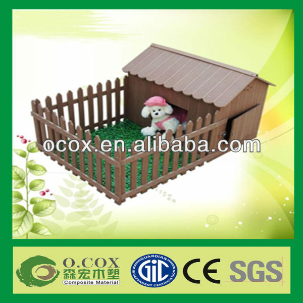 Cute Wood Plastic Composite WPC Pet House