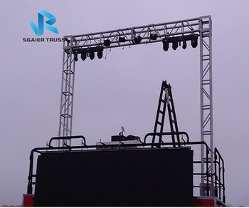 Sgair China Best Price Aluminum Stage Lighting Truss System View For Sgaier Product Details From Guangzhou Co