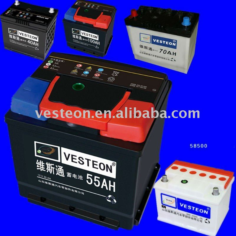 lowest price dry charged car battery