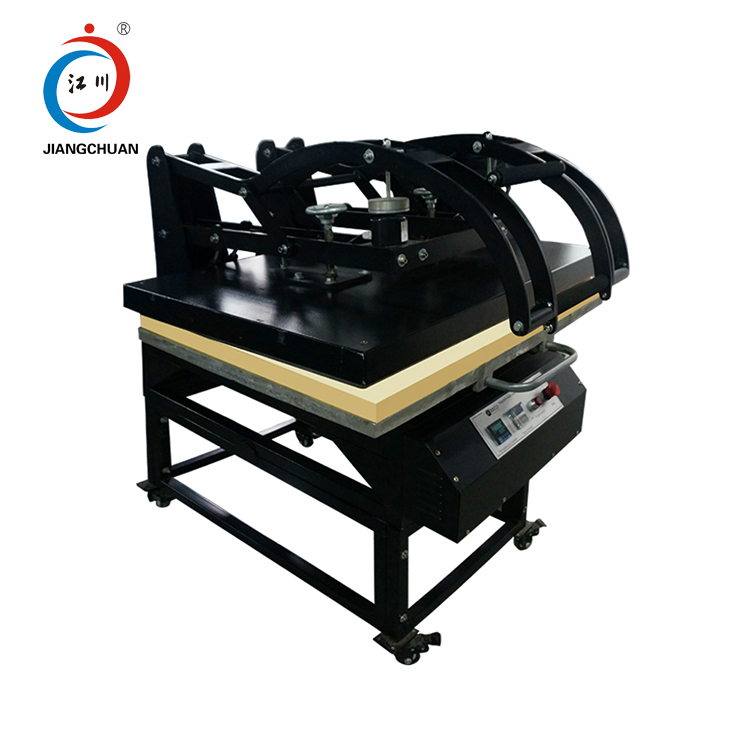 Cheap used large format manual jersey transfer sublimation t shirt heat press print machine