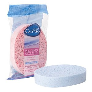 Ultra Soft, Instant-Dry, Bacteria-Free, Eco-Friendly cellulose facial spone, Natural Facial Puff Face Wash Cleansing Sponge