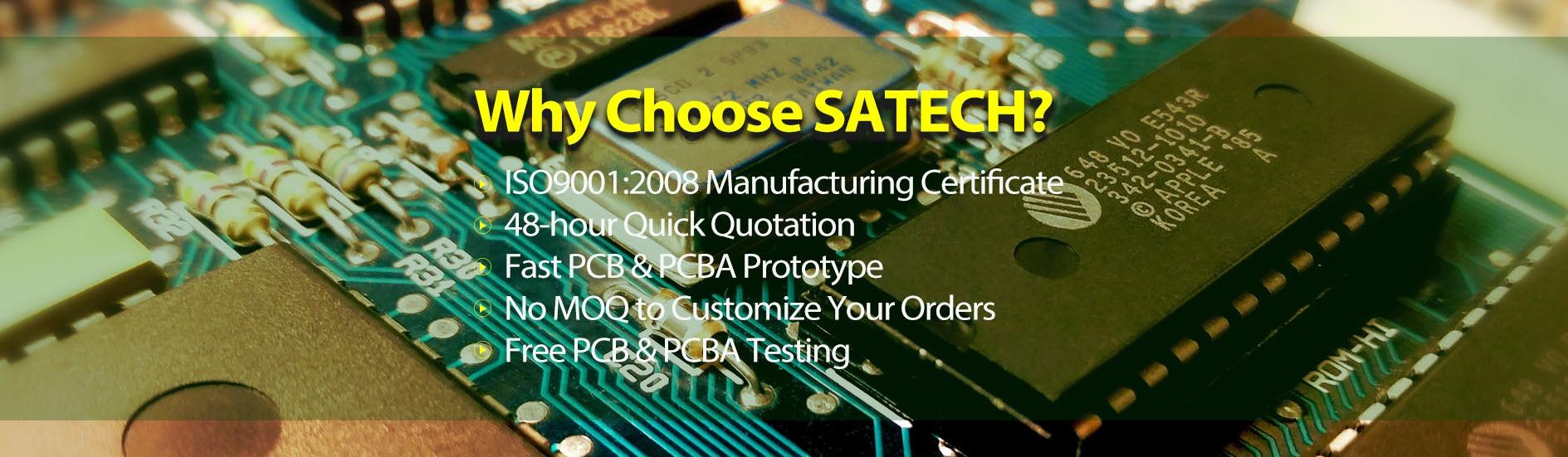 Shenzhen Sato Intelligent Technology Ltd  - PCB production