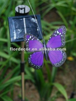 Solar Flutterby Butterfly Garden Stake/solar Garden Decorative Flying  Animal/garden Adornment/solar