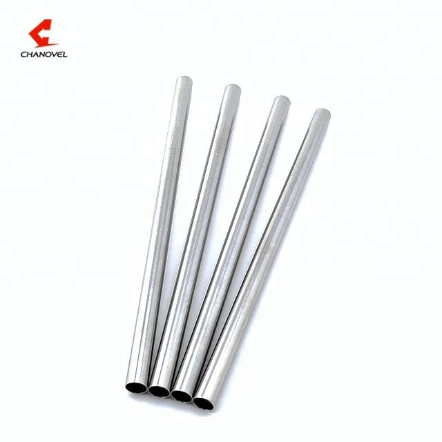 12mm stainless steel metal bubble tea drinking straw