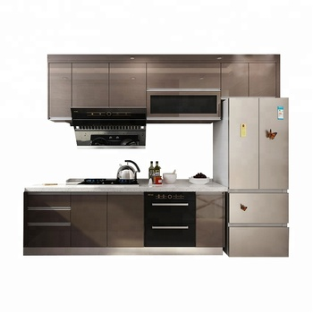 Modern High Gloss Simple Designs Mdf Kitchen Cabinets ...