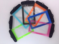 hot selling transparent pvc cell phone waterproof bag case for mobile
