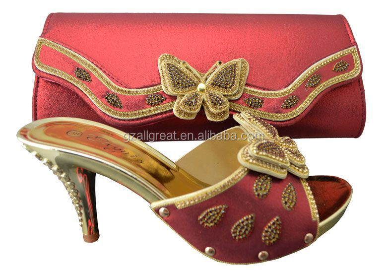 Italian Shoes And Bags To Match Women African