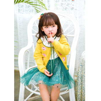 Hot Sale Autumn And Winter Collection Sweaters For Baby Girls 1