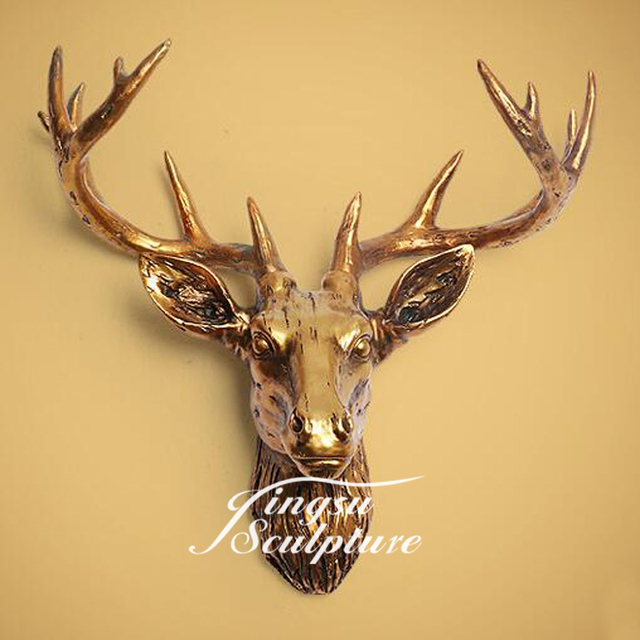 Old Fashioned Stag Wall Decor Elaboration - Wall Art Collections ...