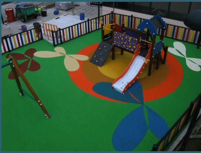 Image result for Playground surfacing with EPDM rubber granules