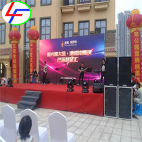 customized toppled full color outdoor best quality hot sale indoor screen canbe move P6 led display module