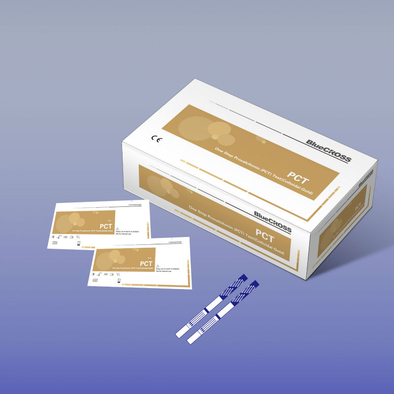 New Product High Specificity High-end Procalcitonin PCT Rapid Test Kits Colloidal Gold Bacteria Infection With CE Certificate