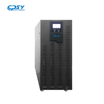 380V/220V 3-Phase  in single phase out ups 10KVA High Frequency Online UPS with 4 hours backup