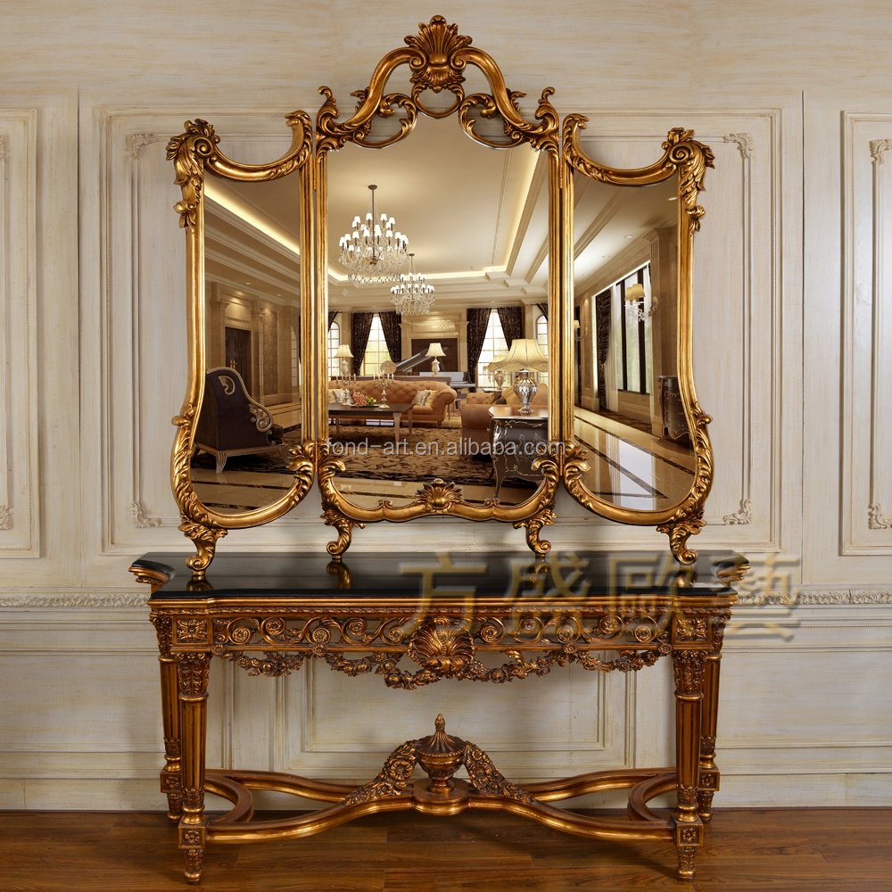C246 china factory european styly room decorative mirror for Living room mirrors for sale