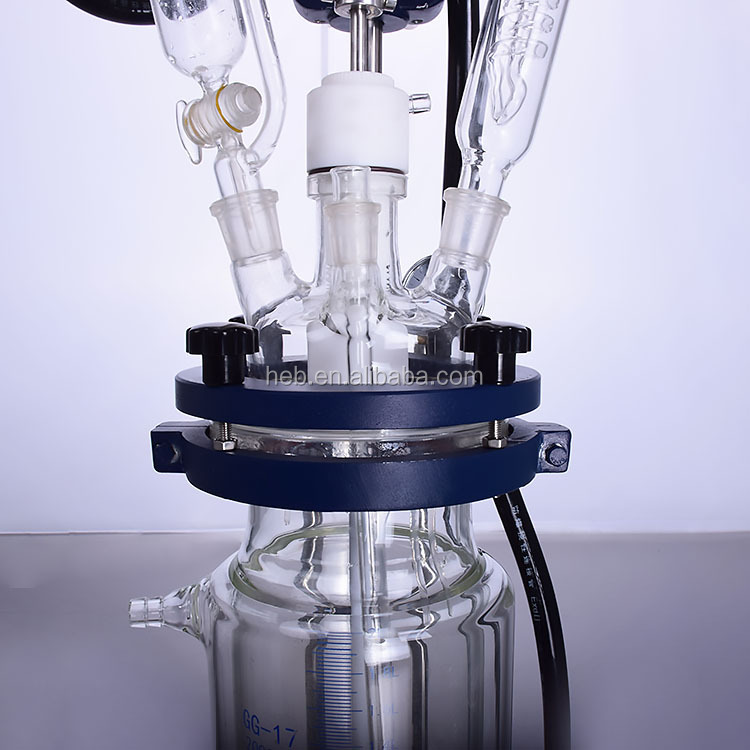 HEB-3L Jacketed Glass Reactor