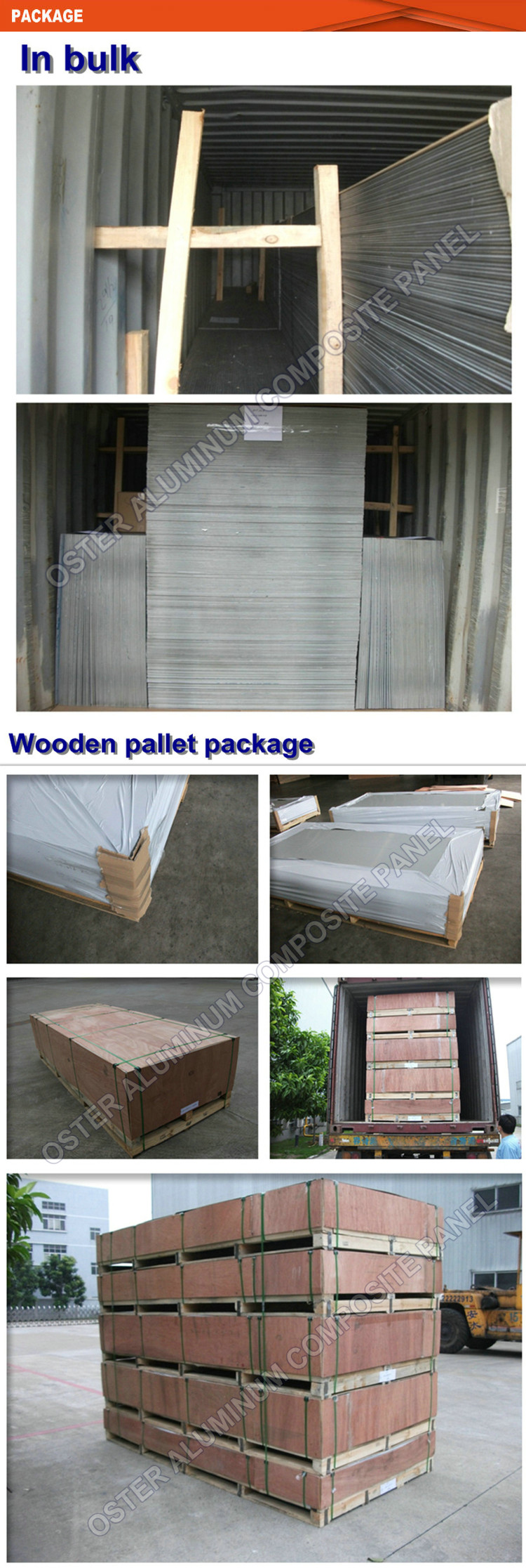 New Building Construction Materials Artificial wood Look aluminum composite panel