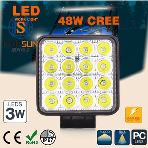 wholesale price! C REE 4000 Lumen 48watt led work lamp, 4x4 led driving light, 48w led work light