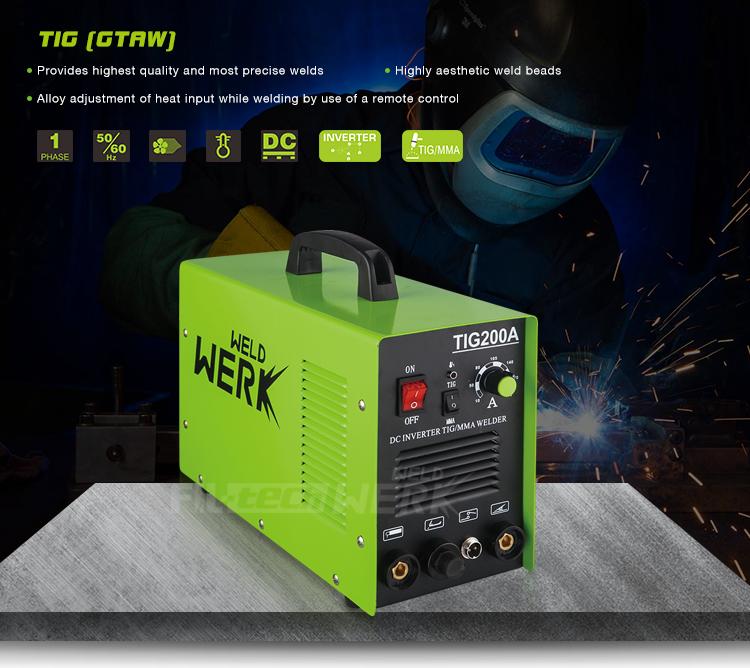 China Best Price Portable Aluminium Single Phase Arc Dc Tig/mma 200amp Gas  Argon Tig Welder Welding Inverter Machine Invert Tig - Buy Invert