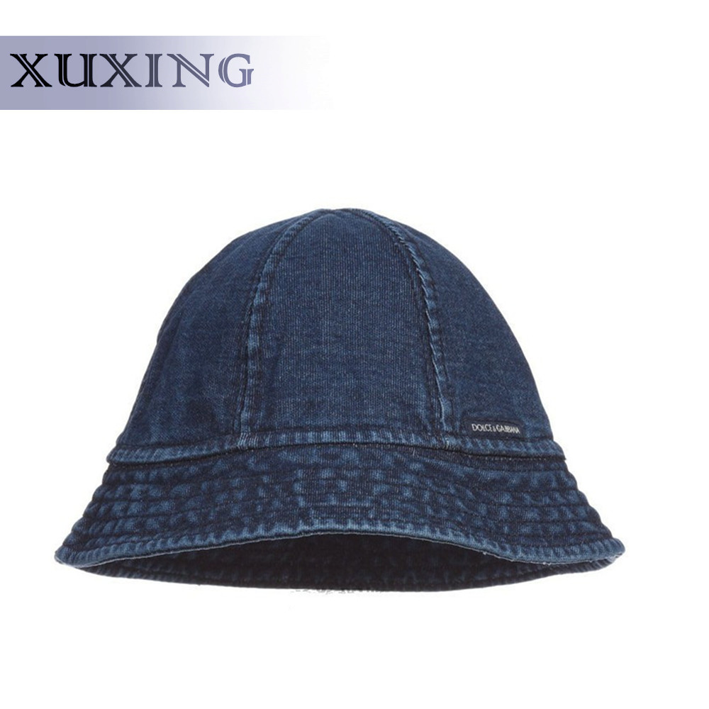hot sale old style sun visor hat plain blank denim kids bucket hat custom 8419aaf3484
