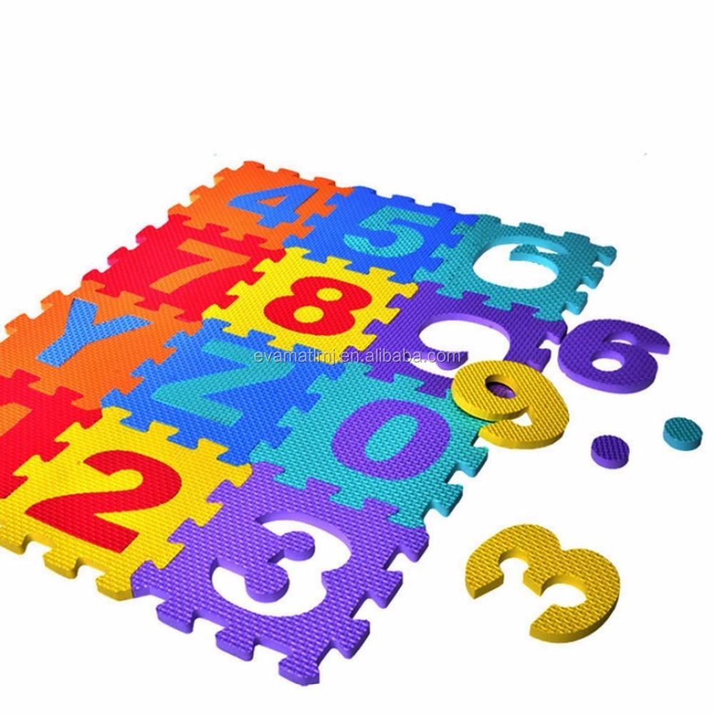 Soft Eva Foam Baby Play Floor Mat Alphabet Numbers Kids Diy Puzzle Jigsaw Mat Buy Eva Puzzle Mats Eva Puzzle Mats Eva Foam Interlocking Floor Mats