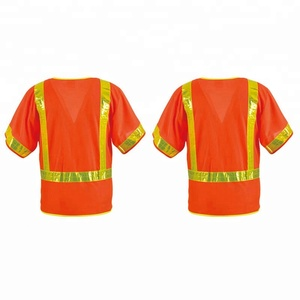 Quality guarantee high visibility safety orange t shirts sweatshirt for sale