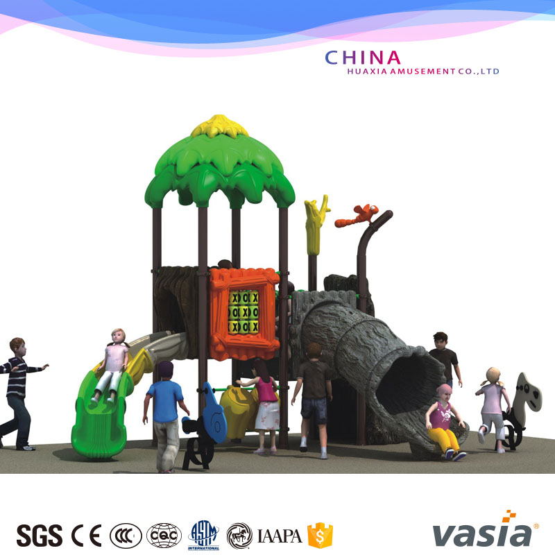 Children Plastic Play Ground Slide Type Material Water Outdoor Playground Equipment for sale