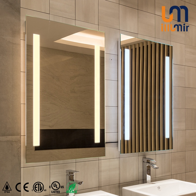 Professional Manufacture Foshan Eterna Lighting For Hotel Mounted Wall Vanity Bathroom Mirror