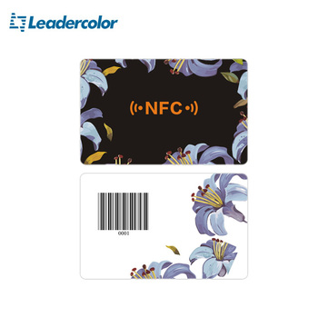 ISO Plastic NFC Business Card With Offset Printing CMYK