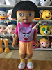High Quality Dora Mascot Costume Dora The Explorer Cartoon Costume Adult Stock