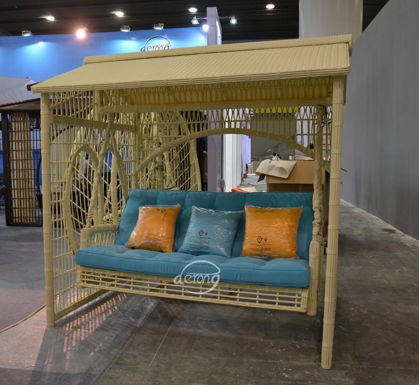Beautiful Garden Swing/ Luxury Patio Swing   Buy Canopy Patio Swing,Rattan  Garden Swing,Rattan Outdoor Swing Product On Alibaba.com
