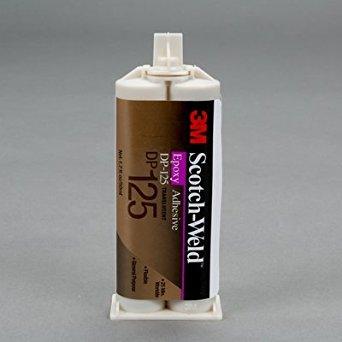 3M(TM) Scotch-Weld(TM) Epoxy Adhesive DP125 Translucent, 50 mL, 12 per case