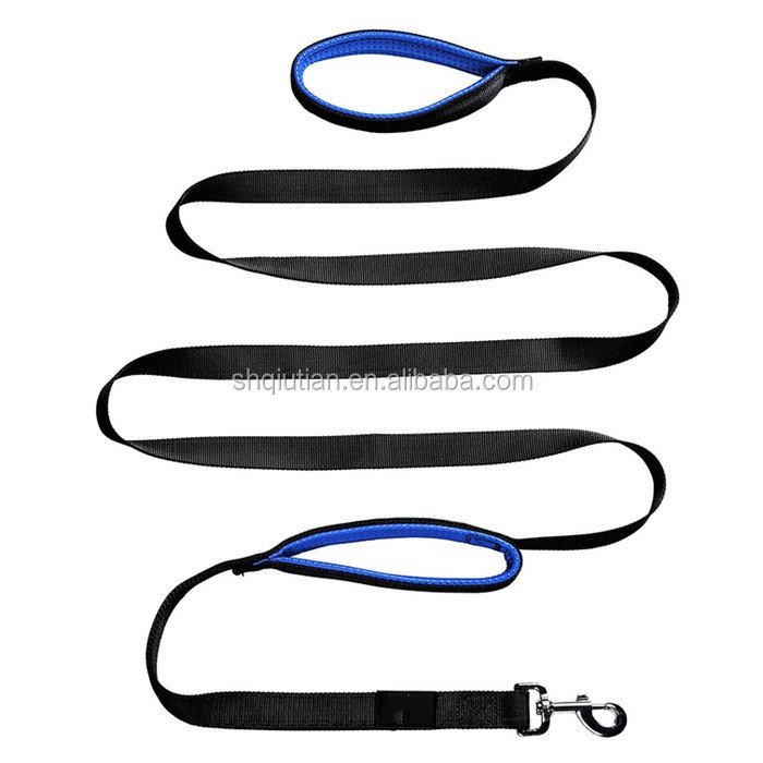 Training Leash / Extra Long 8ft Lead / Dual Padded Handles for Medium or Large Dog / Heavy Duty / Pet Supp