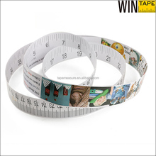 Colorful Cheap Disposable Paper Measuring Tape For Lose Weight