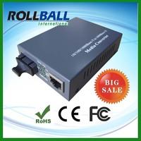 Competitive prices internal power supply 20km fiber optic media converter