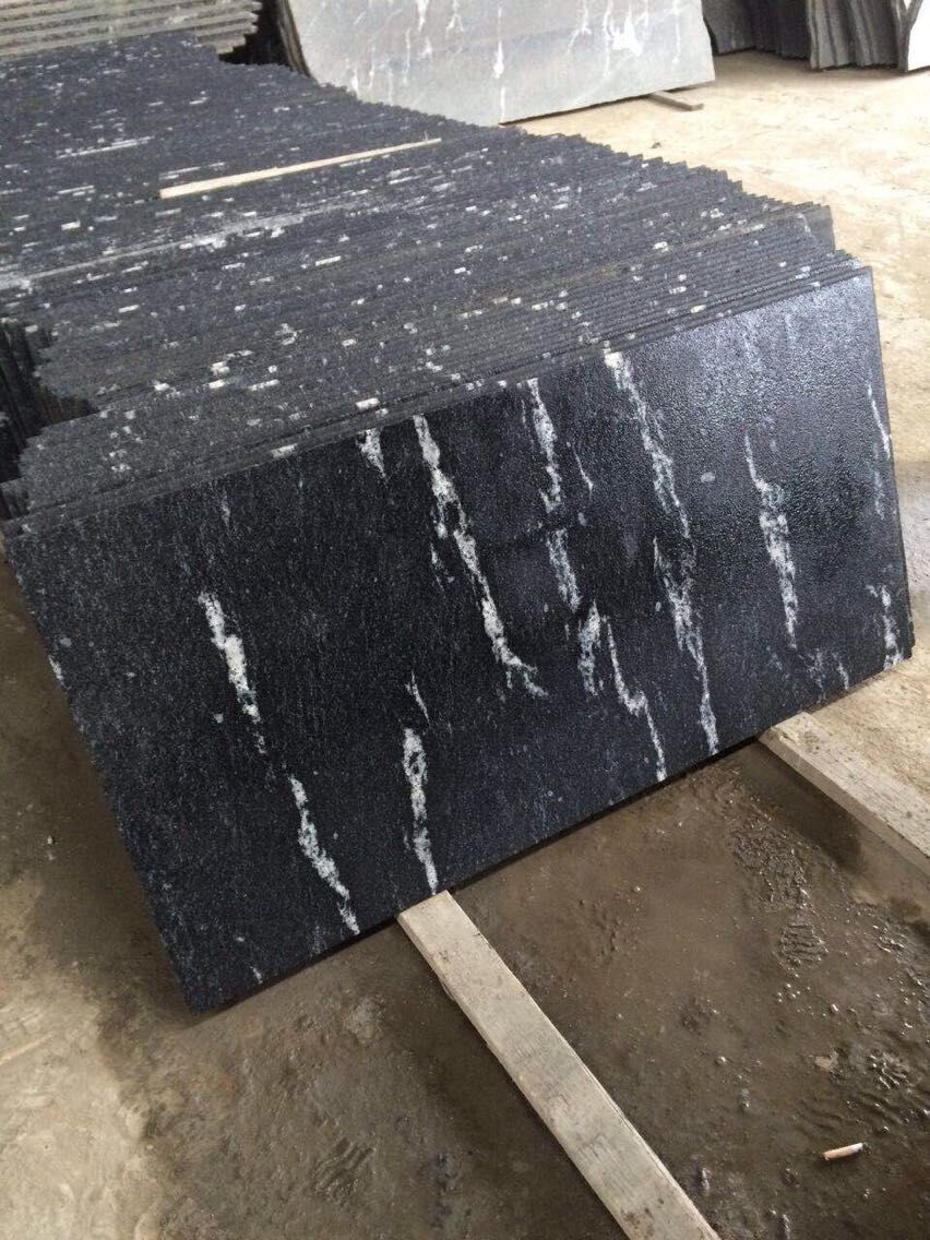China Via Lactea Granite Black Blocks Stonecontact Com