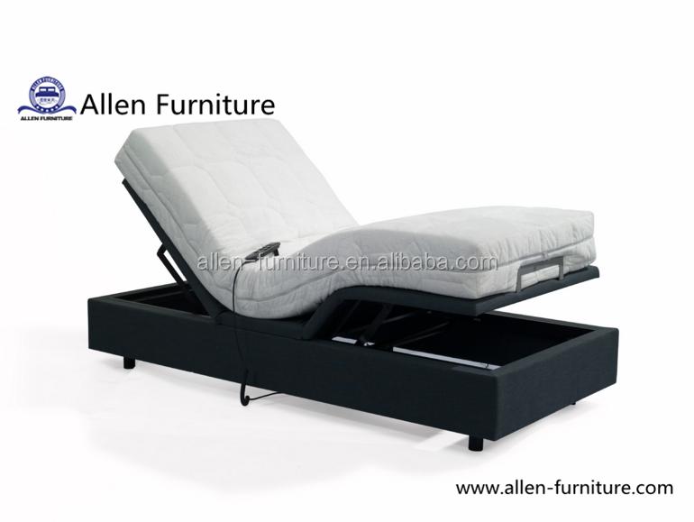 Headboard Bed Frame Compatible Adjustable Bed Base