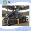 hydraulic horizontal fully automatic waste paper/carboard/film bales machine
