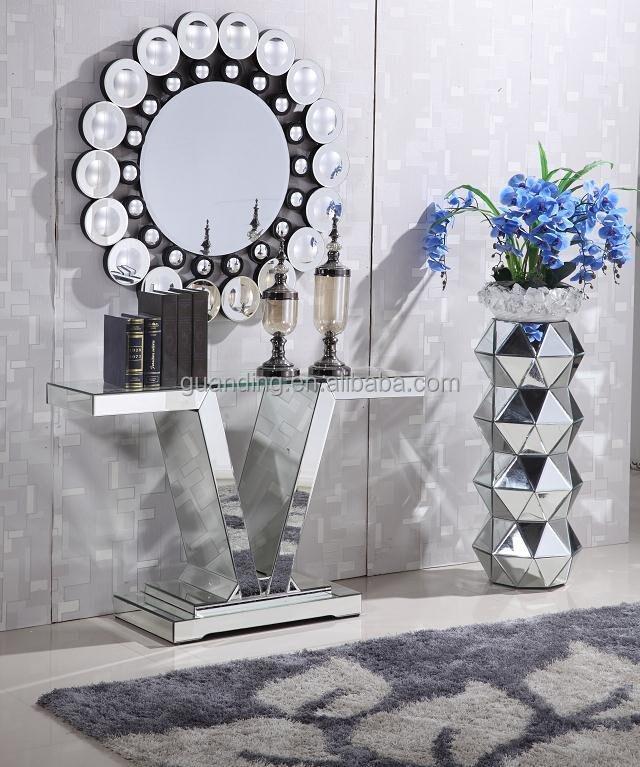 Classique miroir meubles table de console avec miroir for Miroir indonesia