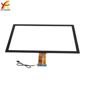 High sensitive 10-point touch glass with capacitive touch screen panel