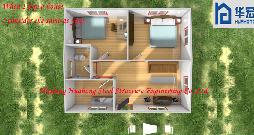 Portable small cheap prefabricated houses prices for sale for Low cost to build homes