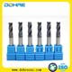 High efficient for rough end mill cutter and carbide end mill,3/4 flute carbide steel roughing end mill